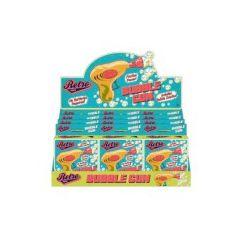 Retro style bubble gun in colourful retro packaging
