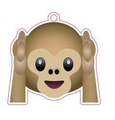 Emoji Monkey Air Freshener