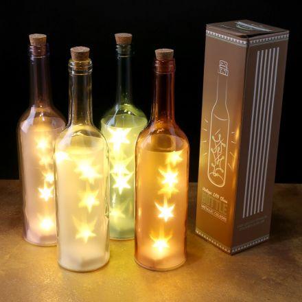 Decorative light up LED bottle