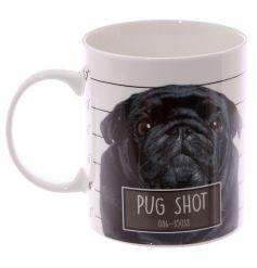 Bone China Pug Mug
