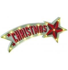 Light up LED christmas sign