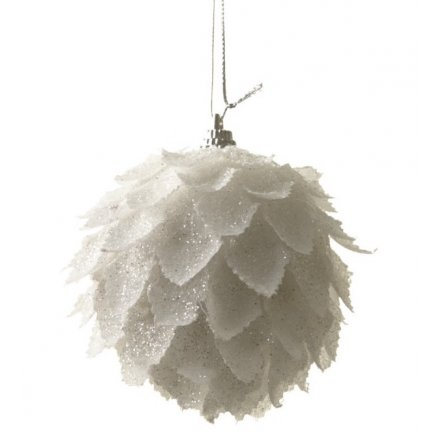 sneakers for cheap 6476a c19ec RRR070B / Feather Look Bauble   30826   Christmas / Baubles ...