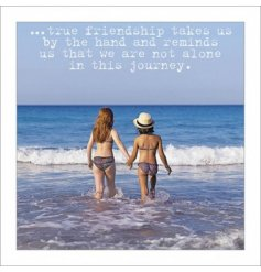 Friendship Sentiment Greeting Card