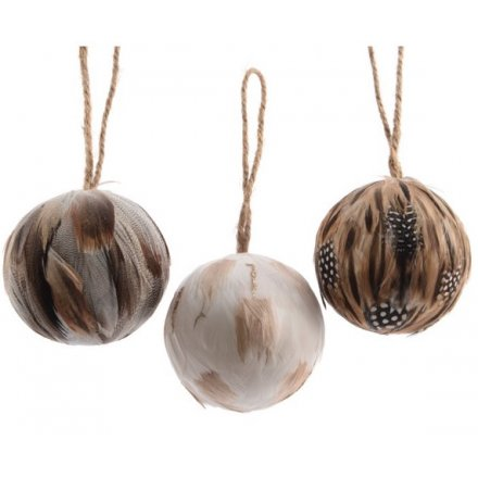 newest collection 9f84c 7f230 Large Feather Baubles, 3a   30884   Christmas / Hanging ...