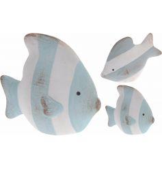 Stripe Fish Ornament, 2a