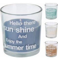 Coastal Sunshine Candles, 4a