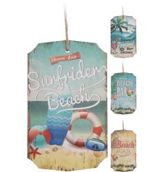 Beach Bar Tag Sign, 4a