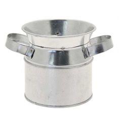 Galvanised Urn, 7cm