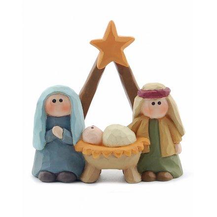 Nativity Scene Resin Figures