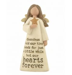 A beautiful angel figure with Grandma slogan. A lovely gift item with sentiment.
