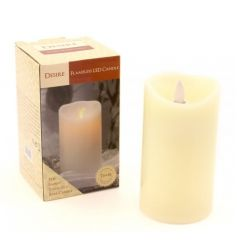 Flameless light up LED candle gift boxed by Leonardo