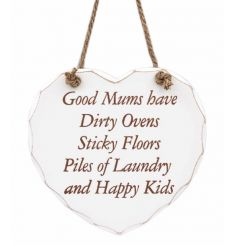 Good Mums have dirty ovens, sticky floors, piles of laundry and happy kids.
