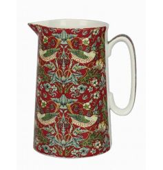 A stylish ceramic jug with a beautiful strawberry thief pattern. A great gift item for many occasions.