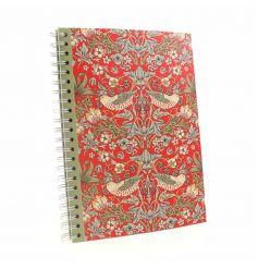 A stylish A4 pad in a popular William Morris design. A lovely gift item.
