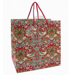 A stylish medium gift bag in the popular Strawberry Thief design by William Morris. As beautiful as the gift inside!