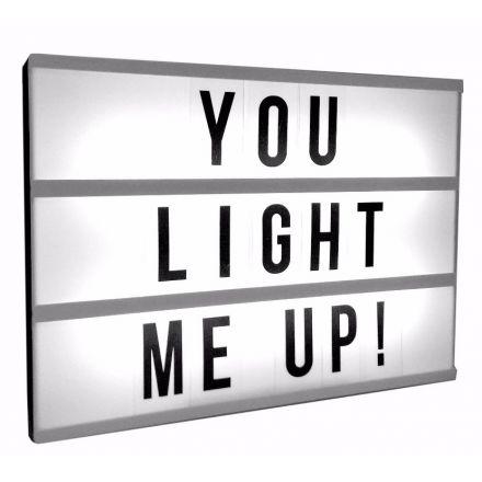 LP29645 / Light Box w Letters 30cm | 31866 | Christmas / Light Up