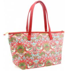 A stylish and practical shopper bag in the popular Strawberry Thief design by William Morris. On trend this season.