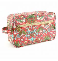 A stylish and practical wash bag in the popular William Morris design.