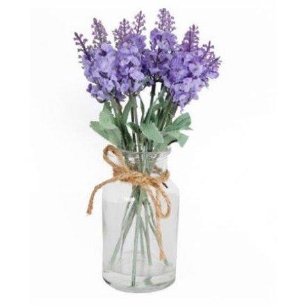 Lavender Floral Display