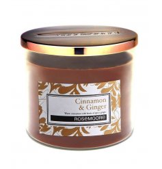 A candle with a warm and rich fragrance with aromatic undertones including cloves, redwood and cedar.