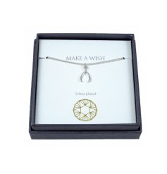 A fine quality silver necklace with gift box. A lovely gift item for many occasions.