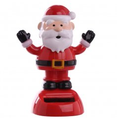 Cute little festive Santa Solar Pal