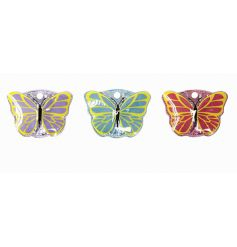 A mix of 3 butterfly design manicure sets. A great gift item.