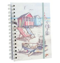 A stylish and practical hardback notebook from the popular Sandy Bay range.
