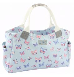 A fine quality and stylish tote bag with the popular butterfly paradise design.