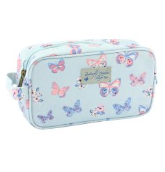 A pretty wash bag with a butterfly print by Jennifer Rose.