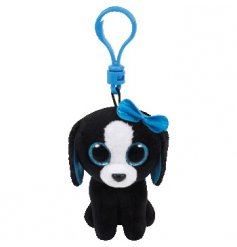 Add a cute touch to your bags with this sweet beanie boo clip from the popular TY collection