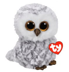 An adorable soft toy owl Beanie Boo from the official TY range. A great collectable item.