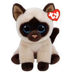 An adorable Beanie Boo cat soft toy. A great collectable item.