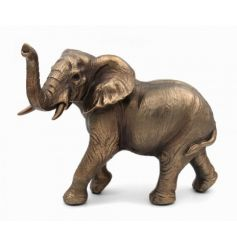 A fine quality bronzed elephant figure form the Bronzed Reflections range.