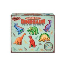 A fun and interactive dinosaur activity for kids to enjoy. Comes with retro packaging.