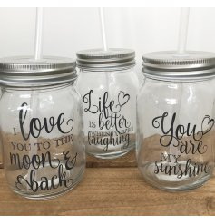 fill with colourful cocktails or keep it sweet with some punch, these drinking jars are perfect for any theme