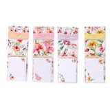 . Keep your day to day lists kept on these colourful floral note pads.