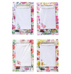 Get in to the spring feeling in the new upcoming year with these quirky watercolour clipboards and pens.