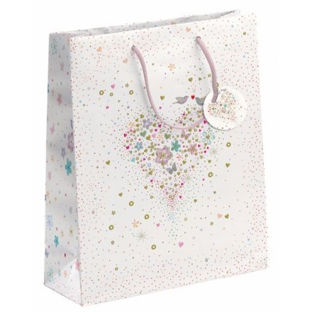 Wedding Heart Gift Bag, Large