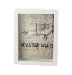 Collect your pennies for that big adventure with this world map money box. See your pennies add up whilst you plan!