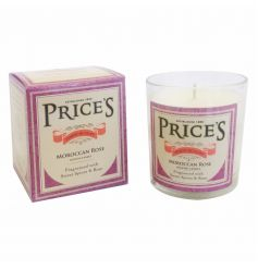 A classic design scented candle from Prices heritage range. Fragranced with moroccan rose.