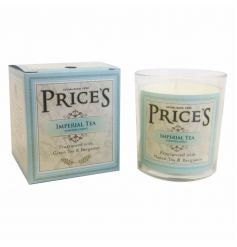 A beautifully packaged scented candle jar with gift box.