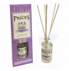 A finely packaged and beautifully scented reed diffuser from Prices heritage range.