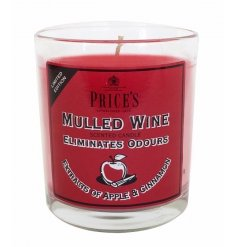 A limited edition Mulled Wine candle jar with extracts of apple and cinnamon.