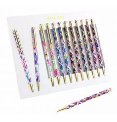 A stylish mix of laser cut writing pens