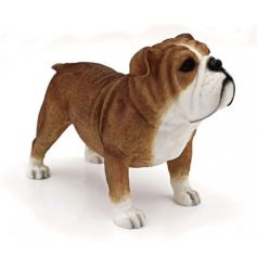 A fine quality bulldog dog figurine from the Leonardo collection.