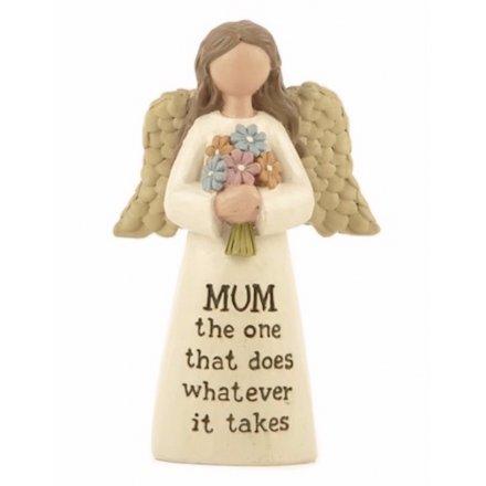 Mum Angel Ornament