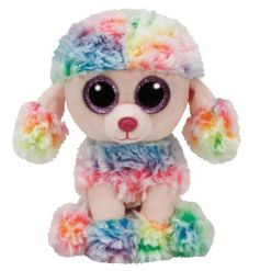 Keep your little ones entertained with this adorable rainbow puppy Beanie Baby from the popular TY range.