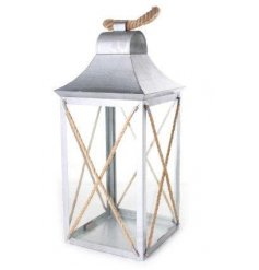 vintage chic coastal charm themed lantern will situate perfecting in any natural toned environment