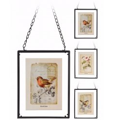 A vintage vibe styled picture frame